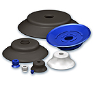 Extra-flat suction cups, VPG series