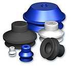 Generic Suction cups with 1.5 bellows, VSAG series