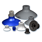 Flat suction cups, VP series
