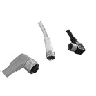 Screw-type electrical connectors, M8 and M12, CD – CC series